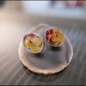 Jewelry - Dry flowers 💐 Earrings